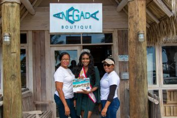 In ensuring that the Virgin Islands contributes to the worthwhile initiative, Anegada Beach Club, which offers choice luxury accommodation, gifted a $12,500 luxury vacation package to the Miss World BVI organisation as an auction item for the Miss World Charity Auction. Photo: Provided