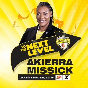 Akierra Mary Deanne Missick is a proud Turks and Caicos Islander who knows that the Turks & Caicos Islands has an opportunity to be one of the leading small countries in the world. Photo: Provided