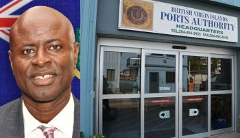 A few days ago Attorney General Mr Baba Aziz, the Government's Chief Legal Advisor, was served with the legal papers on behalf of the Government of the Virgin Islands over the case. Photo: GIS/File