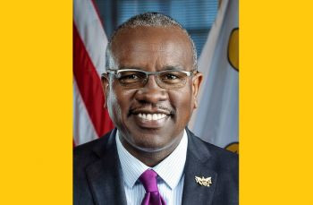 US Virgin Islands Governor, Mr Albert A. Bryan Jr on Friday, March 27, 2020, reiterated that residents should stay home, 'and when you absolutely have to venture into the public, maintain safe social distancing.' Photo: Internet Source