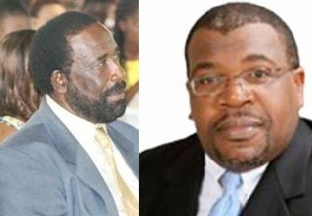 The incumbent Second District Representative, Hon J. Alvin Christopher of the People's Empowerment Party (PEP), in a surprise move, is now running as a Territorial At Large candidate with newcomer and former LIME Executive Mr Elford W. Parsons (right) contesting that district on the PEP slate. Photo: VINO/File