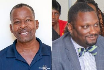 There have been a few names floated around to fill the position of Deputy Governor, including that of former Permanent Secretary in the Premier's Office Clyde Lettsome (left) and current Permanent Secretary in the Deputy Governor's Office David D. Archer (right). Photo: ONB/VINO