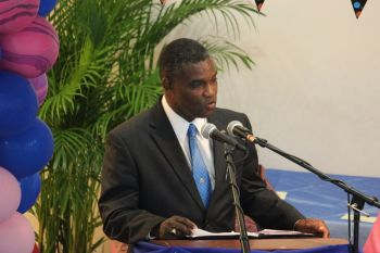 Territorial At-Large Representative Hon. Archibald C. Christian said government has been trying with the issue since returning to government and has found it to be a major challenge. Photo: VINO