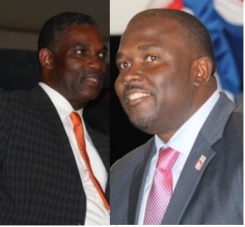 Honourable Archibald C. Christian and Honourable Marlon A. Penn (R8) are the Government members on the PAC. Photo: VINO/File