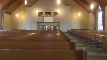 Some churches in the Virgin Islands have shut their doors but are operating online. Photo not of a church in the Virgin Islands. Photo: WHNT.com