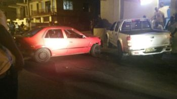 Two of the vehicles were reportedly heading in opposite directions while the other was turning out of an adjoining road when the incident occurred. Photo: VINO Team of Reporters