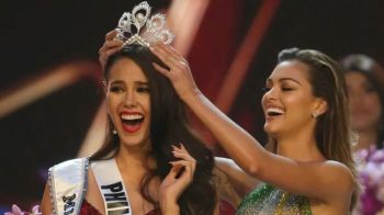 The Philippines' Miss Catriona E. Gray is the new Miss Universe 2018/19 after taking the crown and beating 93 other contestants when the competition concluded in Bangkok, Thailand on Monday, December 17, 2018. Photo: Miss Universe