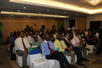 A section of the audience at the TRC presentation ceremony held at Maria's By the Sea on May 30, 2013. Photo: VINO
