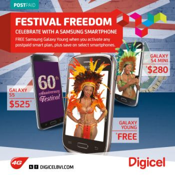 Digicel invites the public to come out to the flagship store this Friday, to celebrate with a customer appreciation event. The event will run from 3:00 PM to 6:00 PM with music, games, prizes, food, and wine courtesy of Caribbean Cellars. Photo: Digicel