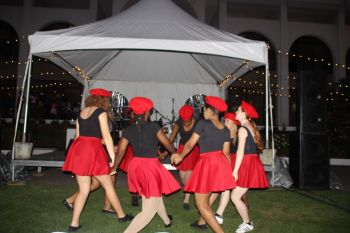 Persons were treated to performances from the BVI Dance Group. Photo: VINO