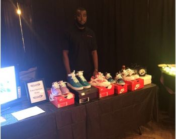 Kiaun N. R. Baptiste our 'Young Professional' this week, is currently a fulltime student at Missouri State University, in the United States of America (USA) who also operates his own business—a sneaker customisation and T-shirt printing shop. Photo: Provided