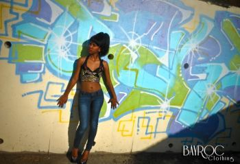 Darryll's taste for Caribbean flavour is very unique and can be found in his fashion line BayRoc Clothing. Photo: provided