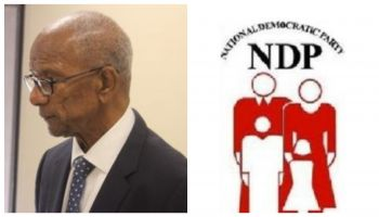 Premier and Minister of Finance, Dr The Honourable D. Orlando Smith (AL), is battling for his political survival within his own National Democratic Party (NDP) as members are planning to oust him as party president at a meeting which is scheduled for June 23, 2018. Photo: VINO/Facebook