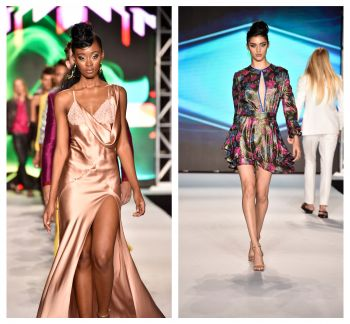 Designs by fashion designer, Anthony Franco. Photo: Team of Reporters