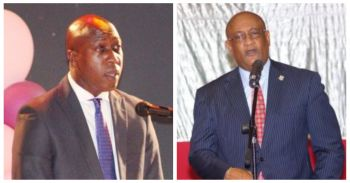 Thus far, two of Premier Smith's own Cabinet colleagues Minister for Health and Social Development Hon Ronnie W. Skelton (AL) and Minister for Education and Culture Hon Myron V. Walwyn (AL) will challenge their Leader for his post in a June 23, 2018, NDP internal election. Photo: VINO/File