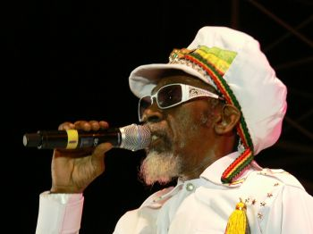Jamaican reggae superstar and legend Bunny Wailer has been billed to perform alongside dancehall sensation Christopher Martin as headline acts for the annual New Year's eve party at Foxy's Tamarind Bar in Great Harbour on December 31, 2013. Photo: wikipedia.org
