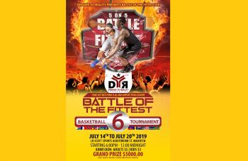 The 6th annual 'Battle of the Fittest' Basketball Tournament will be held in Dutch St Maarten at the L.B Scott Sports Auditorium in Philipsburg from Sunday, July 14, 2019 to Saturday, July 20, 2019. Photo: Team of Reporters