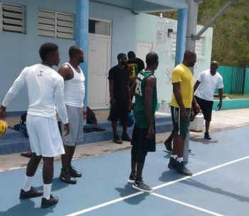 Team BVI will play their first game 6:00 P.M. tonight July 15, 2018 against Holland. Photo: Team of Reporters