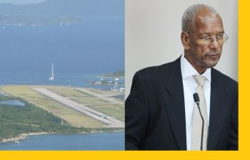 Premier and Minister of Finance Dr The Honourable D. Orlando Smith disclosed said regulator, Air Safety Support International (ASSI) has not given approval for BVI Airways to fly commercially. Photo: VINO/File