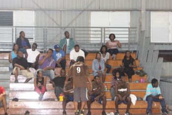 Sixth District Representative Hon Alvera Maduro-Caines said that young men in her community have complained to her about the lack of electricity in the Belle Vue Gym. Photo: VINO/File