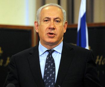 Bishop Cline has labelled the decisions on Palestine of Israel Prime Minister Benjamin Netanyahu as evil. Photo: twitchy.com