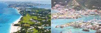 Bermuda, left, and the [British] Virgin Islands, right, are both British Overseas Territories. Photo: Internet Source/VINO