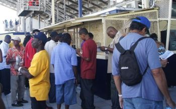 Fans in St. Croix are able to place their bets at the Randall 'Doc' James Racetrack. Photo: VINO/File
