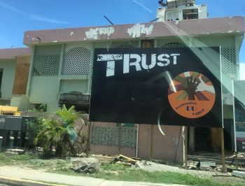 The grouping, 'Progressives United,' is also responsible for the 'Trust' Billboard at the Wickhams Cay Service Station, round-about. Photo:VINO/File