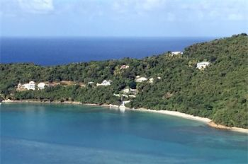 Beachfront property in Brewers' Bay advertised for sale. Photo: Internet source