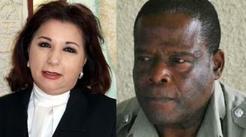 United Kingdom National Kim Hollis QC (left) was selected over Mr Graham for the DDP post in the Virgin Islands. Right: Senior Police Officer Vere H. E. Browne, was snubbed for the Deputy Commissioner of Police post, but went on to be the Commissioner of Police of Antigua and Barbuda. Photo: Internet Source