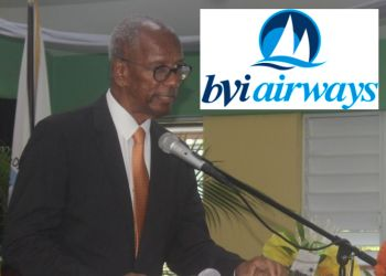 The Virgin Islands Government of Premier Dr The Hon D. Orlando Smith (AL) has said it has honoured its obligations in the agreement to BVI Airways, including a $7.2M pay out, and told BVI Airways to begin flying. Photo: VINO/gobvi.com