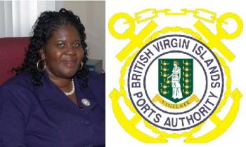 Mrs Oleanvine Pickering-Maynard, left, a former Labour Commissioner and Clerk of the Legislature, has been confirmed in the post of Deputy Managing Director of the BVI Ports Authority (BVIPA). Photo: VINO/Twitter