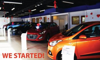 Tortola Auto Group (TAG), the official Hyundai dealer in the Virgin Islands, has joined forces with four banks to bring great deals and a super low interest rate for customers across the Virgin Islands during its 'Sweetheart Deals' Valentine Sales Event. For two days, February 12-13, 2016 four banks will be under one roof at TAG's Slaney Point office. The participating banks include Banco Popular, Scotiabank, FirstCaribbean International Bank and First Bank. Photo: Provided