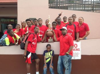 The BVI Future lifted the 13th Annual Zero Tolerance Easter Ball-A-Rama Basketball Tournament in St Thomas, USVI. Photo: supplied
