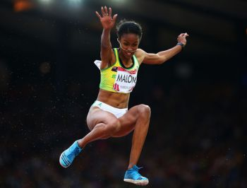 Virgin Islands' Chantel Malone is the reigning PanAm Games Long Jump Champion, OECS Record Holder, 2017 World Championships Long Jump finalist. Photo: Internet Source