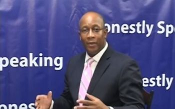 The host of Honestly Speaking on ZBVI 780 AM, Mr Claude O. Skelton-Cline, has urged persons having difficulties with insurance providers and banks to record all their experiences. Photo: Youtube