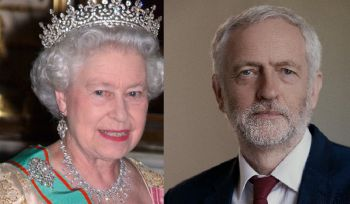 The estate of Queen Elizabeth II (left) is also involved in offshore banking, according to the 'Paradise Papers'. Leader of Britain's main Opposition Labour Party Jeremy B. Corbyn (right) also criticised tax avoidance, promising that if his party wins the next election it would clamp down on tax havens and end loopholes. Photo: Internet Source