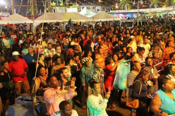 Many turned up at Rita Francis Festiville on July 30, 2016 to see Destra Garcia and Kassav in action. Photo: VINO