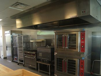 A section of the kitchen area of the HLSCC Culinary Arts Centre. Photo: VINO