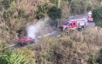 According to sources, no one was reportedly injured as swift action from the Virgin Islands (VI) Fire and Rescue Service led to the fire being extinguished in a timely manner. Photo: Team of Reporters