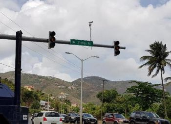 CCTV cameras, positioned mostly across the capital city, Road Town, were destroyed during the hurricanes of September 2017. Photo: VINO/File