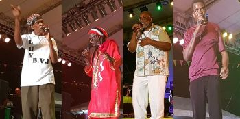 The Calypso Monarch Competition saw performances from several well known calypsonians. Photo: VINO