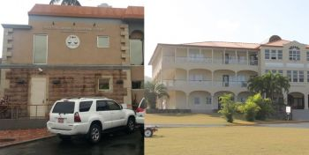 The Commercial Court (left) and the H. Lavity Stoutt Community College (HLSCC) were all realised under a Virgin Islands Party (VIP) Administration. Photo: VINO/File
