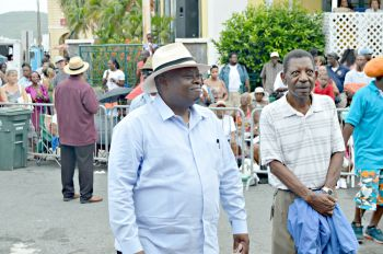 Governor of the USVI Kenneth E. Mapp enjoying the parade. Photo: VI Consortium