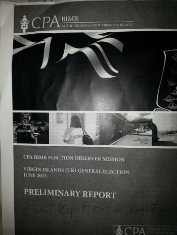 The team released a preliminary report of their findings today June 10, 2015 but will at the end of August 2015 present a much more detailed final report in which a number of recommendations matching the findings will be made. Photo: VINO