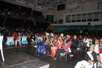 A section of the crowd at Miss BVI 2016 at Multi-Purpose Sports Complex on July 31, 2016. Photo: VINO
