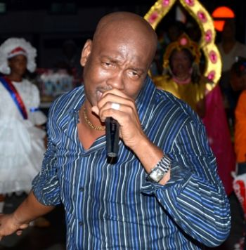 Trinidad soca sensation Iwer George will also be performing for Virgin Islands Festival 2013. Photo: Provided