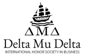 Delta Mu Delta is an international honor society dedicated to the recognition of students who have distinguished themselves academically and of faculty members and business leaders who have experienced measurable success in their profession. Photo: Team of Reporters
