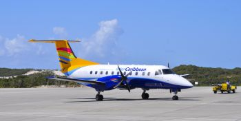 An aircraft belonging to interCaribbean Airways, which has reportedly filed a joint objection to a recent application made by BVI Airways to the US Department of Transportation (DOT) for Exemption Authority and a Foreign Air Carrier Permit. Photo: Internet Source
