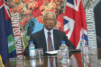 Premier and Minister of Finance Dr The Honourable D. Orlando Smith certainly believes that the Virgin Islands is better off as a territory following the elections of last year which saw the NDP run away with 11 out of 13 seats. Photo: VINO/File